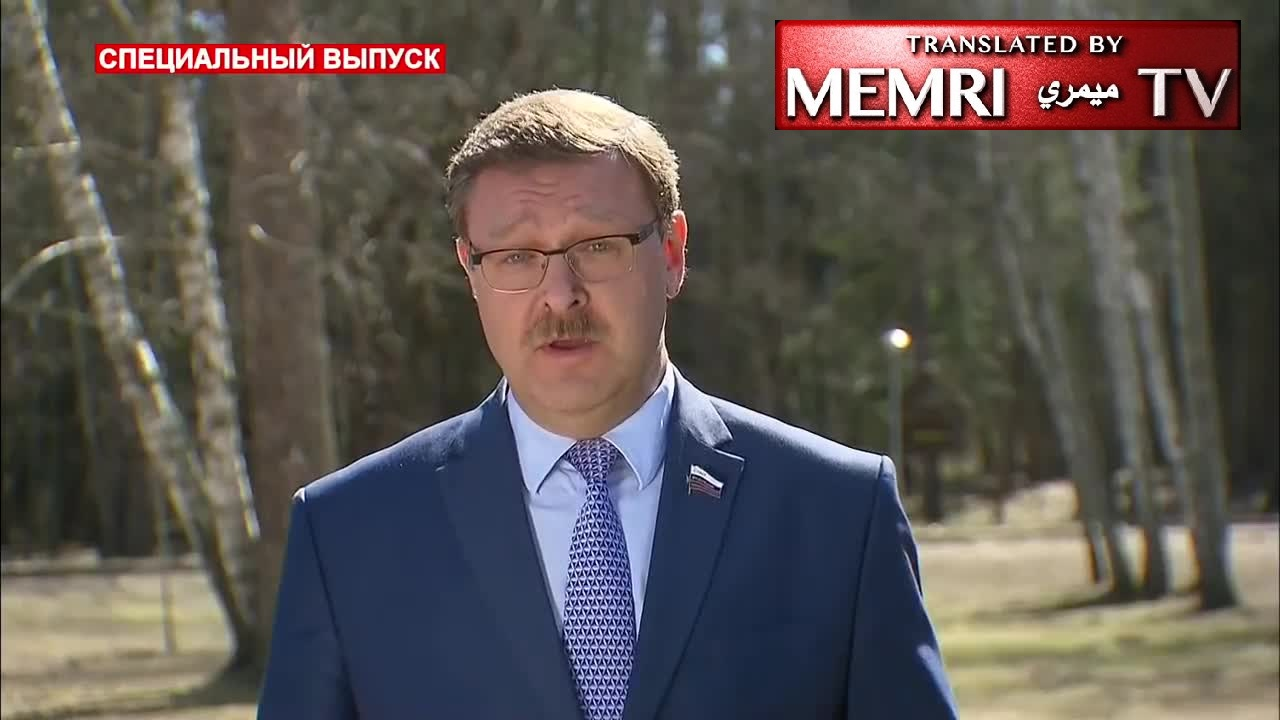 Russian Diplomat Konstantin Kosachev following Missile Strikes on Syria: Russia Is Saving the World